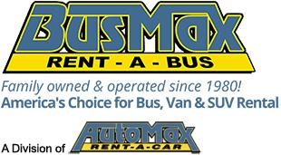 BusMax – Bus & Van Rental | Atlanta | Rome | Cartersville | Georgia Logo